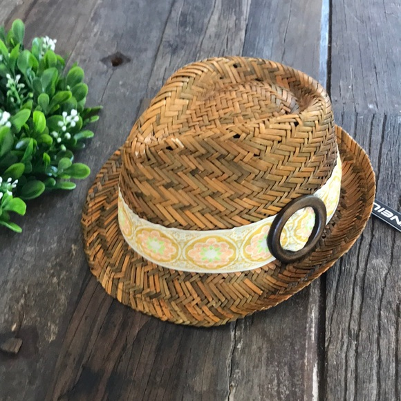 O'NEILL woven straw hat - NEW